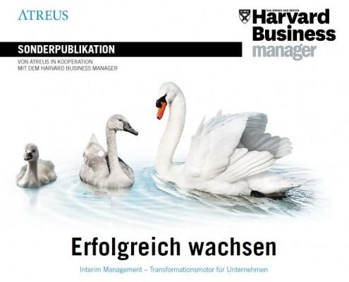 SONDERPUBLIKATION. VON ATREUS IN KOOPERATION. MIT DEM HARVARD BUSINESS MANAGER. Erfolgreich wachsen.